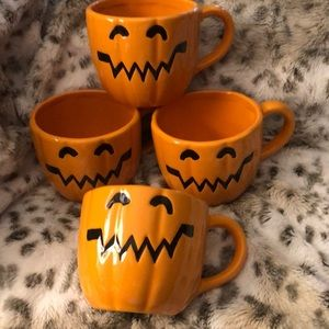 Pumpkin Mug Bundle of 4